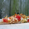Elegant Party Pleaser: Slow-Cooked Chicken Bruschetta Pizza Recipe