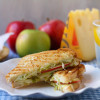 Deluxe Apple Slaw Sandwich - Great for High Tea!