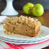 Perfect Weekend Apple Cardamom Coffee Cake