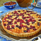 Take a Mini Afternoon Break with Tea and a Cranberry Macadamia Nut Tart
