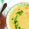Cooking with Tea:  Chamomile Corn Chowder