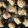 Almond Crusted Cauliflower Bites