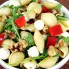 Arugula + Walnut Pasta Picnic Salad Recipe