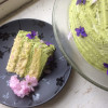 Sweet Spring Matcha Layer Cake