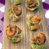 Spicy Guacamole Shrimp Cups