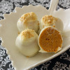 Pumpkin Spice: Hot Buttered Rum and White Chocolate Truffles