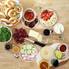 How to Set Up a Build-Your-Own Bagel Party