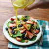 Strawberry Blueberry Salad Recipe with Honey Mustard Vinaigrette