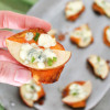 Apples and Blue Cheese Sweet Potato Bites