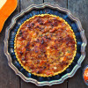 Butternut Squash Tart with Curry Spice Crust