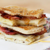 Apple Butter Ham and Cheese Tea Sandwiches