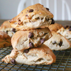 Chai Chocolate Chip Scones: Easy and Healthy Recipe