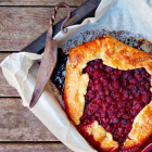 Easy Galette Recipe with Raspberries and Tea Syrup