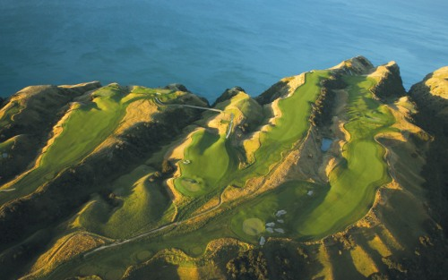 Cape Kidnappers Aqua Shot Golf Course