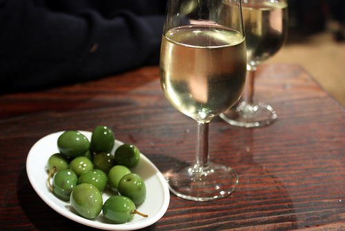 sherry and olives