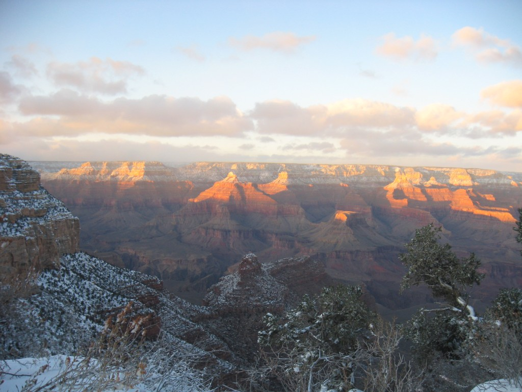 Sunset on the Grand Canyon