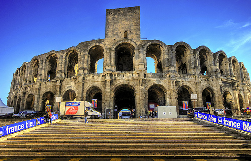 The Arenes, Nimes