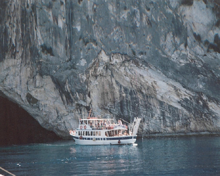 The Ionian Islands - boatcave