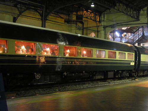 famous trains - named passenger trains