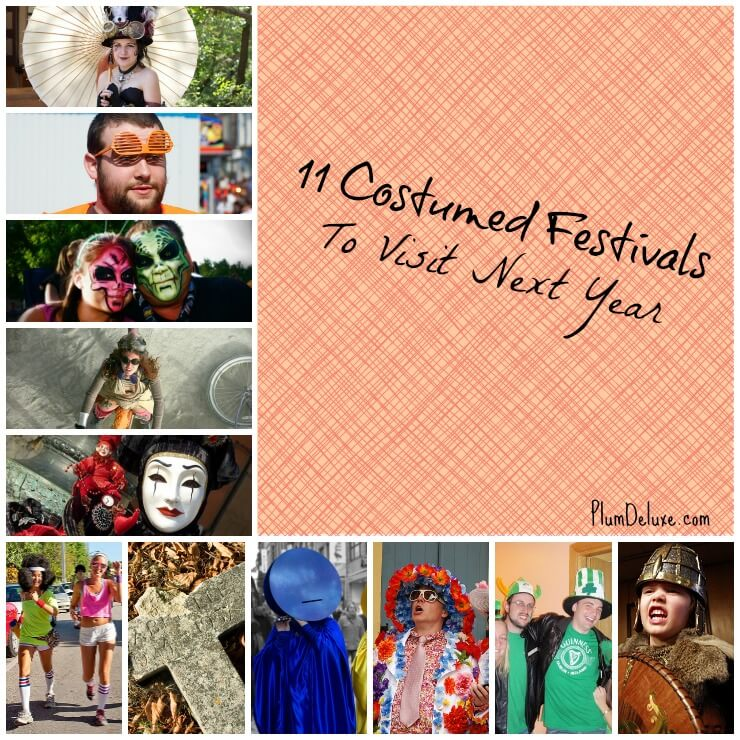 costumed festivals