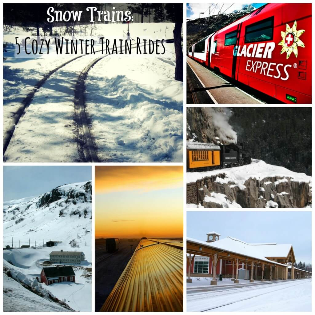 snow trains