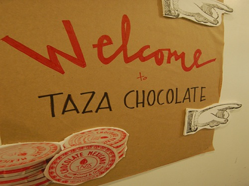 taza from bean to bar chocolate