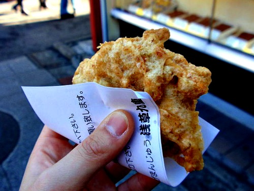 Age Manju Talking Snack in Tokyo: Top 10 Must Have Treats in Japan's Capital City
