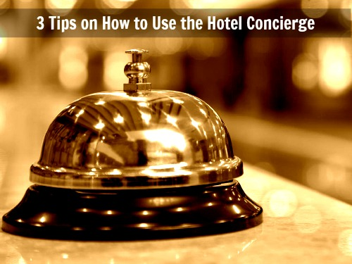 how to use the hotel concierge