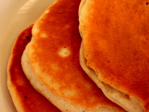 """pancakes """"I've Never Met a Holiday Comfort Food I Didn't Like."""""""