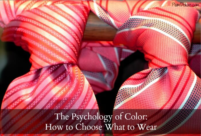 color ties cover The Psychology of Color: How to Choose What to Wear
