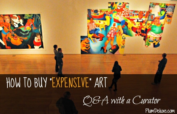 how to buy expensive art