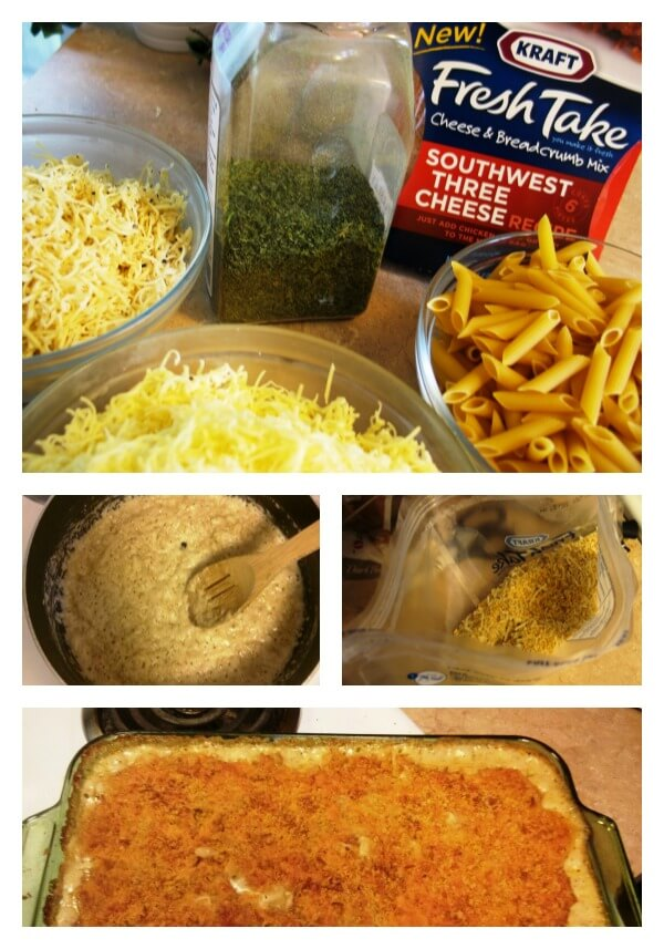 steps for the cheesy mac