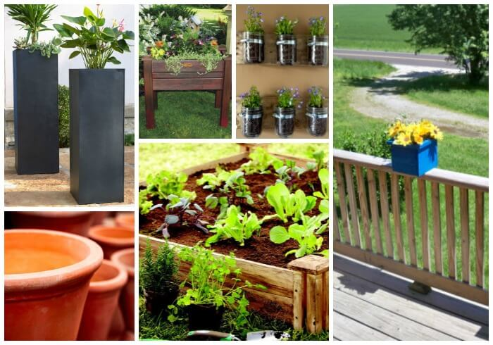 planter ideas A Spring Gardening Shopping Guide for Non Green Thumbs