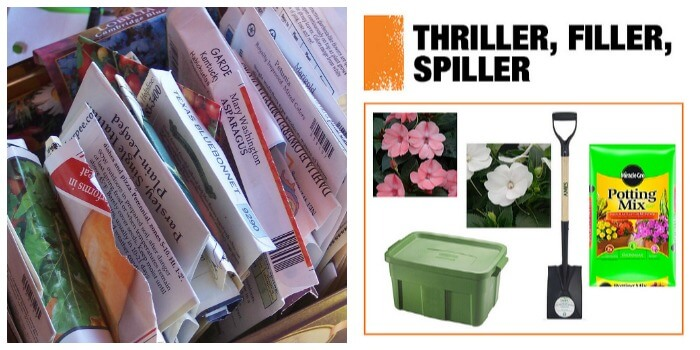thriller filler spiller A Spring Gardening Shopping Guide for Non Green Thumbs