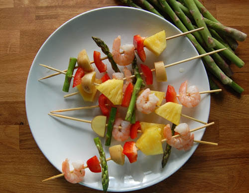 Pineapple Kebabs A Hawaiian's Guide to Eating Pineapple (With Recipes!)