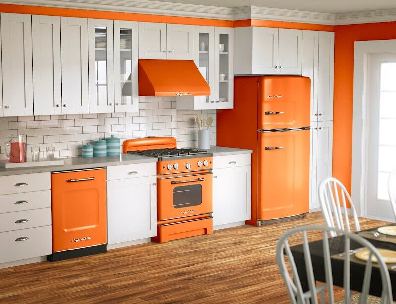 This years dream kitchen design trends youll love for Kitchen colors with white cabinets with yankees wall art