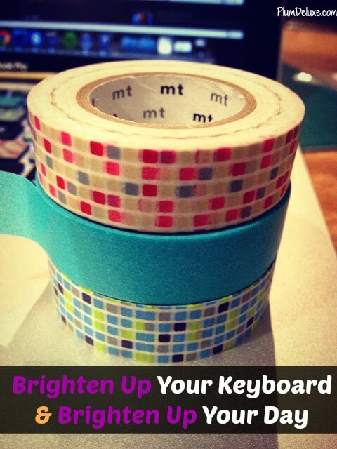 brighten up your keyboard A Quick Way to Brighten Up Your Keyboard & Brighten Up Your Day