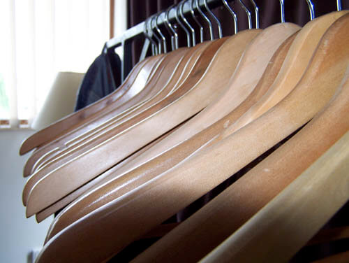 hangers Four DIY Projects to Become an Organizational Queen