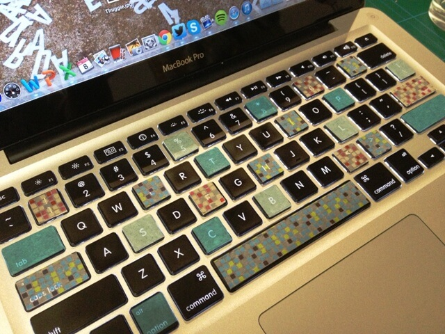 Image result for decorate keyboard with washi tape
