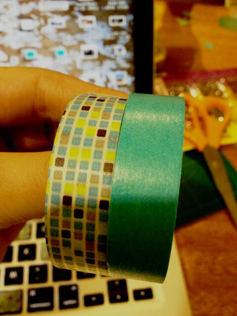 washi tape rolls A Quick Way to Brighten Up Your Keyboard & Brighten Up Your Day