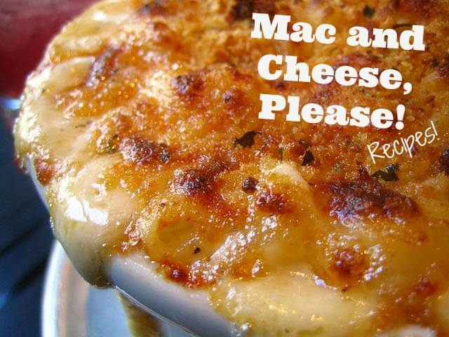 Mac and cheese cover