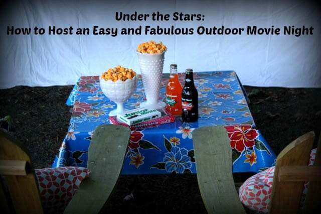 Outdoor movie night cover