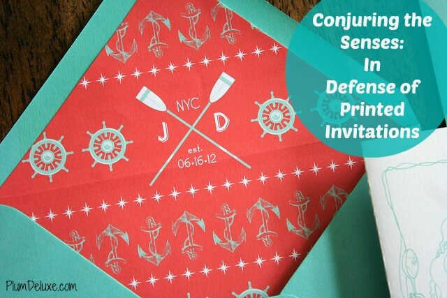 Printed invites cover