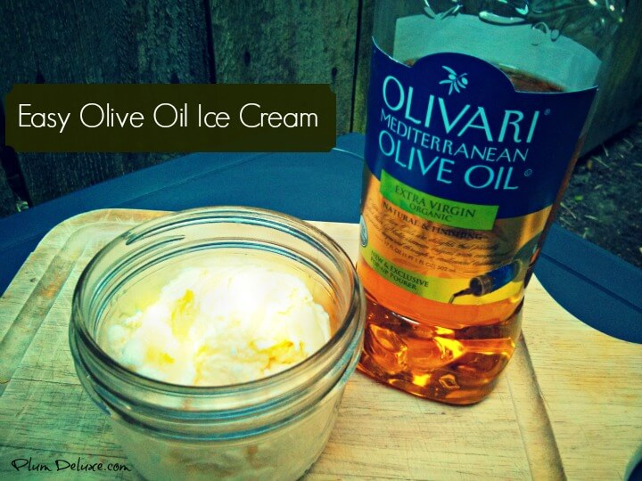 easy olive oil ice cream recipe