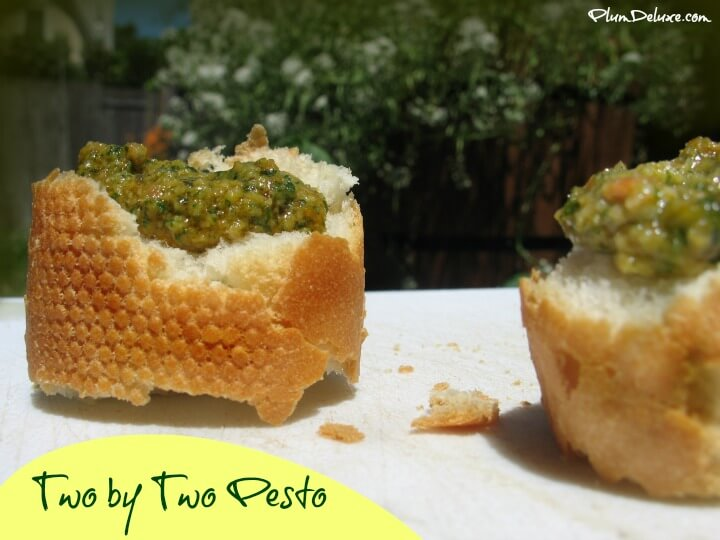 two by two pesto: the perfect pesto recipe