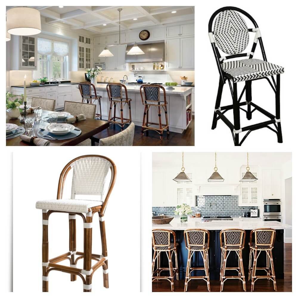 Home bar collage 3 Ways to Use French Café Chairs to Bring a Little Bit of Paris into Your Home