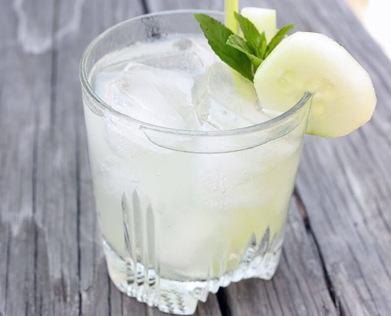 Mint-Gin-Collins
