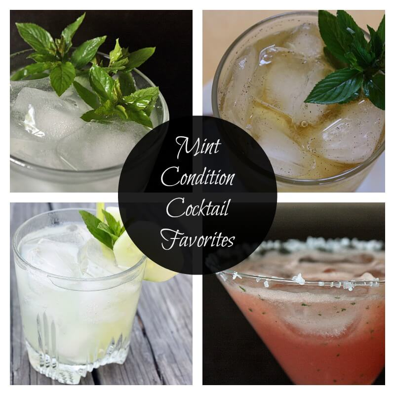 Mint cocktail cover Mint Condition Cocktail Favorites: Brighten Up Classic Cocktail Recipes with Fresh Mint for a Summer Sensation
