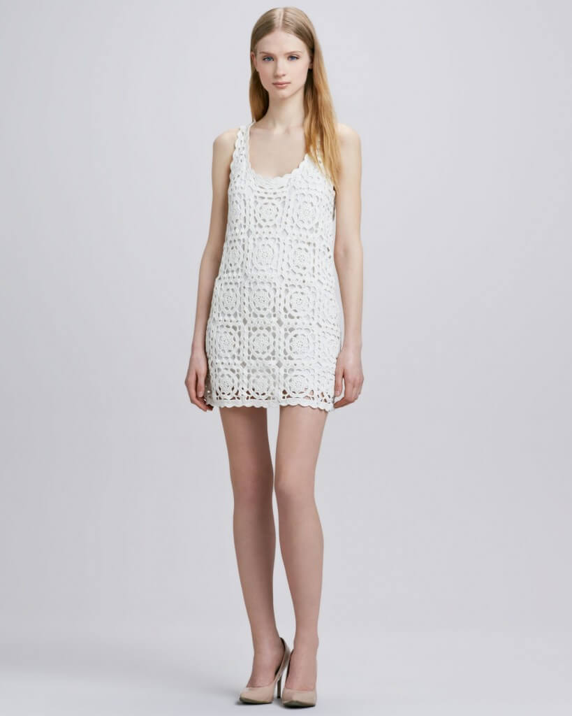 NM dress 819x1024 Stitched from Head to Toe: Modern Day Crochet Trends