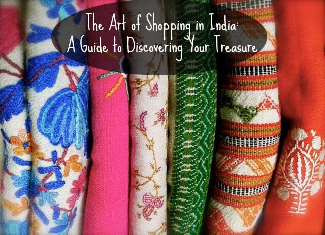 Shopping in India cover